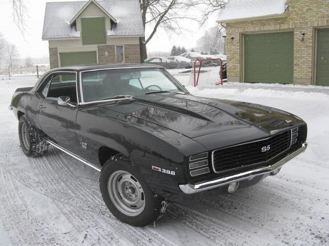 Partial Restorations - 1969 Chevrolet Camaro - Pure Stock